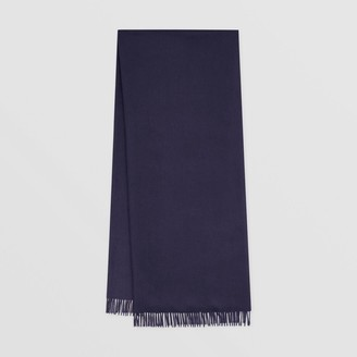Burberry Monogram Motif Regenerated Cashmere Wool Scarf