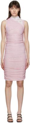 Miaou Pink Mesh Sofia Dress