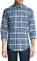 Brooks Brothers Niox Large Heather Plaid Sportshirt