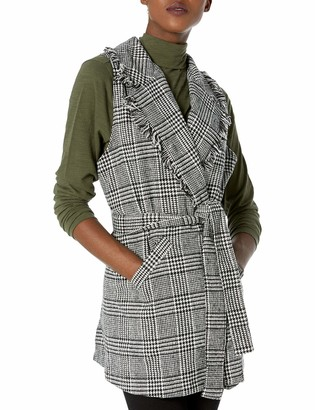Democracy Women's Plaid Vest