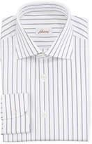 Brioni Men's Striped Cotton Dress Shirt