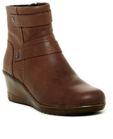 Keen Kate Leather Wedge Bootie
