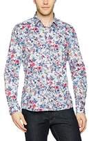 Otto Kern Men's Blumen-Hemd, Slim Fit, 50505 / 13867 Casual Shirt,S