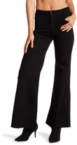 Mother The High Roller Frayed Flare Jeans