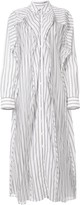 Y/Project striped shirt dress