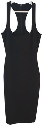 DSQUARED2 Black Cotton - elasthane Dresses