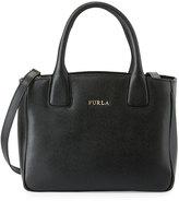 Furla Camilla Small Leather Tote Bag, Onyx