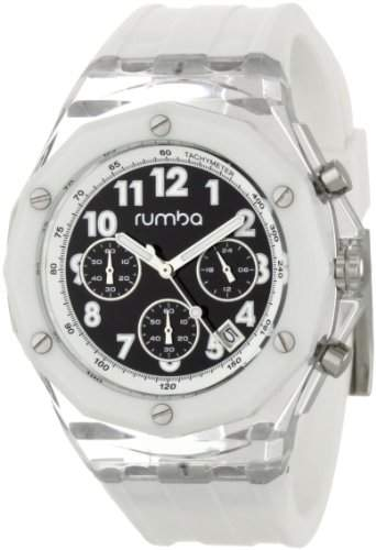 RumbaTime Men's Mercer Snow Patrol 45mm Dial Watch