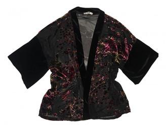 Non Signã© / Unsigned Kimono Black Velvet Jackets
