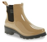 dav Women's 'Prague' Waterproof Chelsea Rain Boot