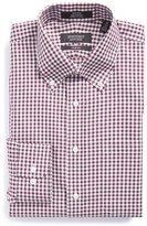 Nordstrom Trim Fit Non-Iron Gingham Dress Shirt