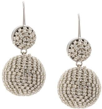 Mignonne Gavigan Disco crystal drop earrings