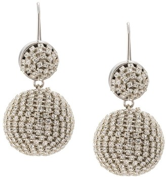 Mignonne Gavigan Disco crystal drop earrings