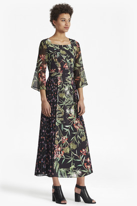 French Connection Bluhm Botero Sheer Maxi Dress