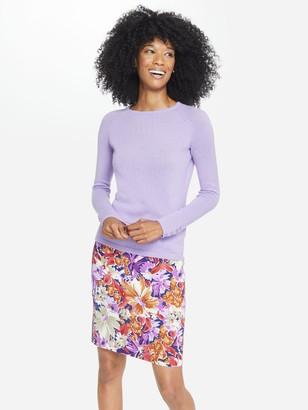 J.Mclaughlin Halle Reversible Skirt in Palmer Floral Geo