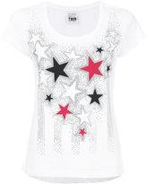 Twin-Set scoop neck star T-shirt