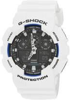 Casio Men's G-Shock GA100B-7A Resin Quartz Watch