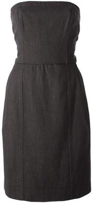 Yves Saint Laurent Pre Owned Strapless Dress