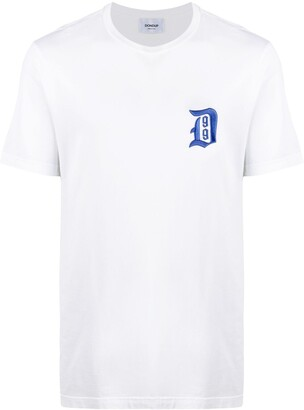 Dondup logo embroidered T-shirt