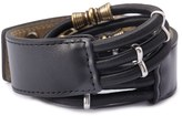 Forever 21 FOREVER 21+ Embellished Faux Leather Stretch Belt