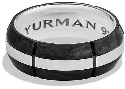 David Yurman Forged Carbon Band Ring