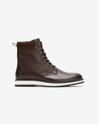 Express Leather Sneaker Boot