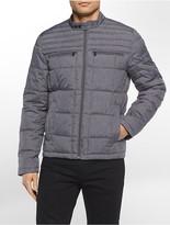 Calvin Klein Battleship Space-Dyed Puffer Jacket