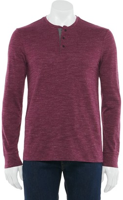 Marc Anthony Men's Snap Henley
