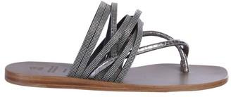 Brunello Cucinelli Precious Strap Sandals