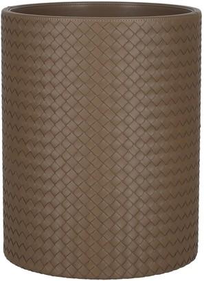 Bottega Veneta VN Leather Waste Paper Basket