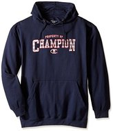 Champion Men's Big-Tall Fleece Raglan Hood with Chest