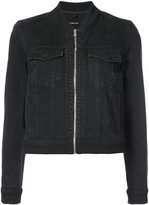 J Brand zipped denim jacket