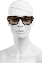 Givenchy Square-frame tortoiseshell polarized sunglasses