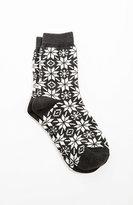 J. Jill Snowflake Crew Socks