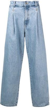 Ader Error High Waisted Jeans