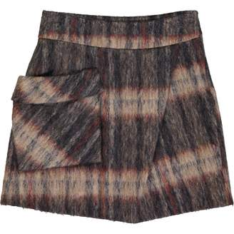 Surface to Air Brown Wool Skirts