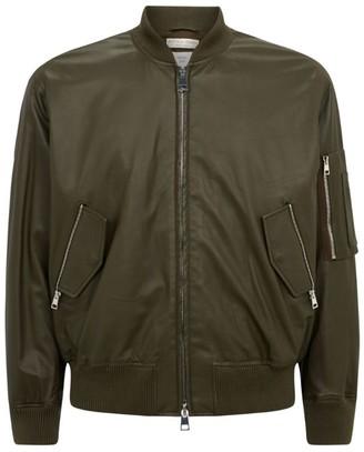 Bottega Veneta Leather Bomber Jacket