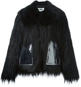 MM6 MAISON MARGIELA faux-fur short coat