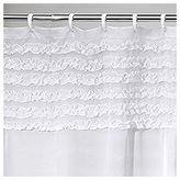 Creative Bath Creative BathTM Ruffles Shower Curtain