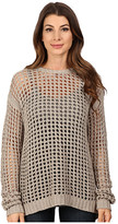 Blank NYC Mesh Stitch Sweater with Open Back Detail