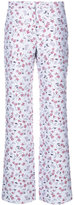 Altuzarra floral print straight trousers