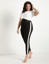 ELOQUII Miracle Flawless Legging with White Side Stripe