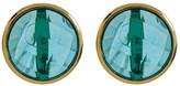 Melinda Maria Hunter Round Tourmaline Stud Earrings