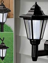 ZQ Modern Retro LED Wall lamp Solar Powered LED Outdoor Garden Path Yard Security Wall Light Landscape Lamp(CIS-57222)