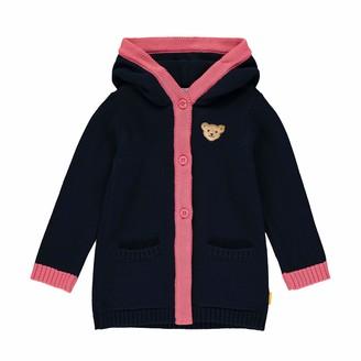 Steiff Girls' mit Teddybarmotiv Cardigan Sweater