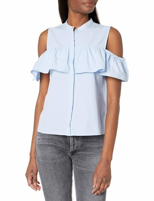 Lucky Brand Women's Ruffle TOP