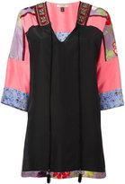 Etro panelled tunic - women - Silk/Viscose/Cotton/plastic - 40