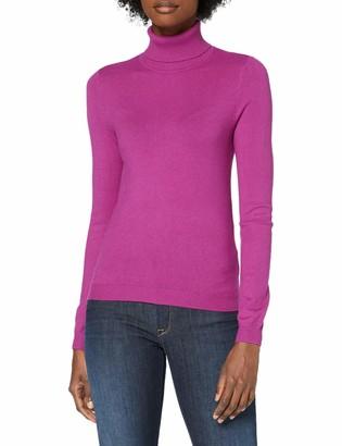 Vero Moda Women's VMHAPPINESS LS Rollneck Blouse GA Boo Sweater