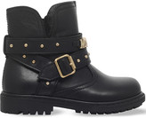 Moschino Logo leather boots 3-5 years