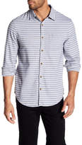 Original Penguin Grapich Patterned Spread Collar Shirt